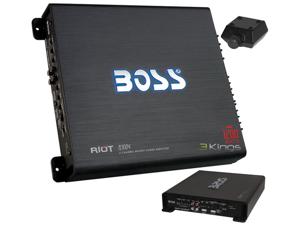 New Boss R3004 1200W 4 Ch Car Audio Amplifier Amp 4 Channel 1200 Watt