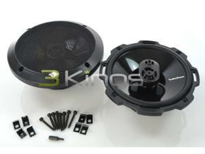 "Rockford Fosgate P16756-3/4"" 3-Way Power Series Coaxial Car Speakers"