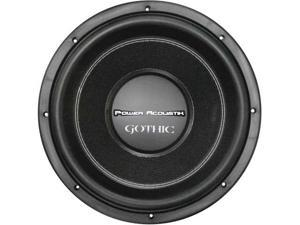 "Power Acoustik Gw310 Gothic 10"" 2200W Dual 2 Ohm Car Audio Subwoofer Sub Gw-310"