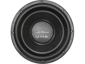 "Power Acoustik Gw310 Gothic 10"" 2200W Dual 2 Ohm Car Audio Subwoofer Sub Gw-310"