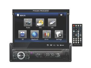 "New Power Acoustik Ptid-8920B 7"" Touch Screen Bluetooth Usb Sd Car Video Player"
