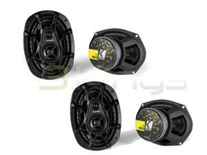 "2) New Pairs Kicker Ds693 6X9"" 560W 3-Way Car Audio Car Speakers 6X9 11Ds693"