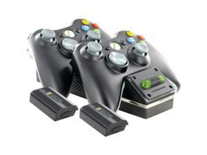 NYKO 86074 XBOX 360 CONTROLLER CHARGING DOCK (BLACK)