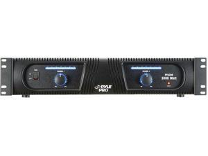 "New Pyle Ppa300 3000W 19"" Rack Mountable Professional Amplifier Amp Fan Cooled"
