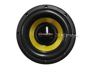 "New American Bass Vfl8d4 8"" Car Audio Competition Subwoofer Sub"