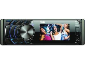 "NEW NAXA NCD650 3.5"" DVD RECEIVER WITH WIDESCREEN SD USB INPUT & REMOTE"