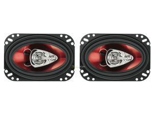 "New Pair Boss Ch4630 4X6"" 3 Way Car Speaker 250W Car Audio Speakers 250 Watt"