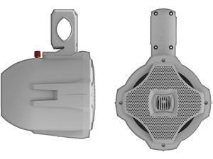 "New Lanzar Aqwb65w White 6.5"" 500W 2 Way Wakeboard Speaker 500 Watt"