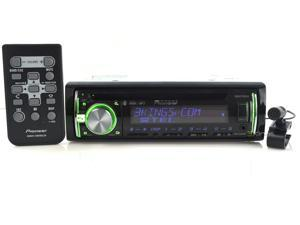 Pioneer DEHX6600BT In-Dash CD/MP3/USB Car Stereo Receiver with A2DP Bluetooth, Pandora Link, MIXTRAX, iPod Support and AUX