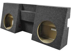 "New Qpower Qtacoma122005 2 - 12"" Hole Empty Subwoofer Box For 2005-2013 Toyota"