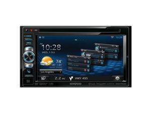 "New Kenwood Dnn770hd 6.1"" Wvga Double-Din In-Dash Dvd Receiver With Navigation &"