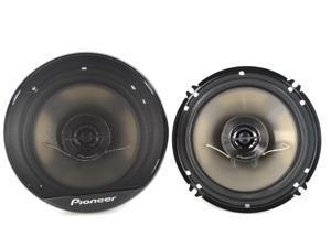 """Pioneer Ts-G1644R 6.5"""" 250-Watt 2-Way Coaxial G-Series Speakers , Black"""