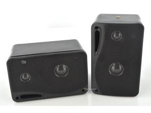 PYRAMID 2022SX 3-Way 400w Car Audio Mini Box Speakers