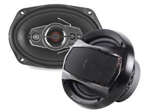 "New Pair Pioneer Ts-A6995r 6X9"" 5 Way 600W Car Audio Speakers 600 Watt"