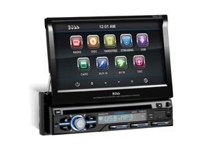 "BOSS AUDIO BV9979B 7"" Single-DIN In-Dash Flip-Up DVD Receiver with Bluetooth(R)"