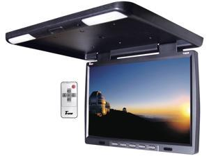 "New Tview T156ir Black 15.4""  Flip Down Lcd Monitor With Built-In Ir Transmitter"