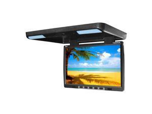 "New Tview T154dvfdbk 15.4"" Flip Down Dvd Player Overhead Roof Dvd Car Video"