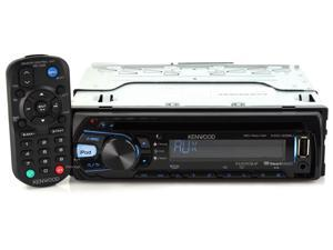 New Kenwood Kdc-258U Din In Dash Car Cd/Mp3 Player Usb Aux Ipod Receiver Stereo