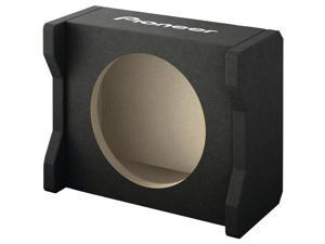 "Pioneer UD-SW200D Single down-firing sealed enclosure for 8"" shallow sub"