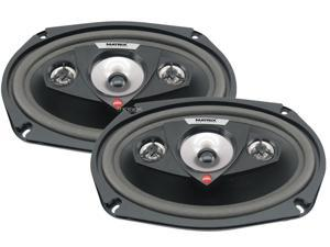 "New Pair Matrix Audio Rsx690 300 Watt 6X9"" Inch Car Speakers 4 Ohm Car Audio"