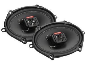 "New Pair Matrix Audio Gtx570 300 Watt 5X7"" / 6X8"" Car Speakers 4 Ohm Car Audio"