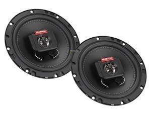 New Pair Matrix Audio Gtx620 300 Watt 6.5 Inch Car Speakers 4 Ohm Car Audio