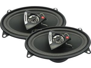 New Pair Matrix Audio Rsx460 120 Watt 4X6 Inch Speakers 2-Way 4 Ohm Car Audio
