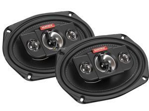 "New Pair Matrix Audio Gtx690 500 Watt 6X9"" Inch Car Speakers 4 Ohm Car Audio"