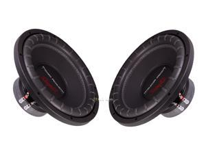 "New Pair Power Acoustik Rw1-12 12"" 1200W Car Audio Subwoofer 4 Ohm Svc Sub"