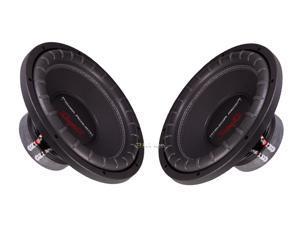 "New Pair Power Acoustik Rw1-12 12"" 1200W Car Audio Subwoofer 4 Ohm Svc Sub"