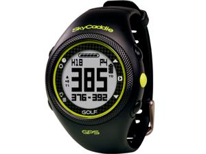SkyCaddie Rangefinder Golf Watch - Black - (No Annual Fees Required!)