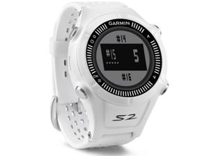 Garmin Approach S2 GPS Golf Watch - White (+$25 Mail-In-Rebate)