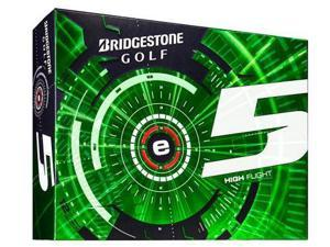 Bridgestone e5 Golf Ball-White-Dozen
