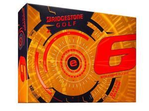 Bridgestone e6 Golf Ball-Orange-Dozen