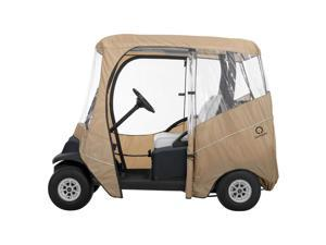 Classic Accessories Fairway Travel Golf Cart Enclosure - Short Roof-Fairway-Navy