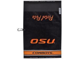 Oklahoma State Cowboys NCAA Face/Club Jacquard Golf Towel -