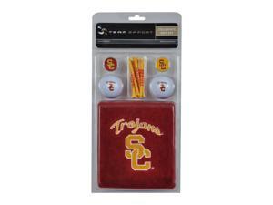 NCAA USC Golf Gift Set-