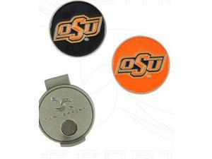 NCAA Hat Clip and Ball Markers-Oklahoma State University