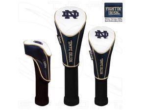 NCAA 3-Piece Headcover Sets-3 Piece Set-Notre Dame