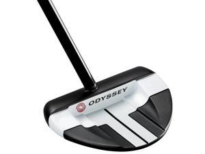 Odyssey Works Big T V-Line CS Putter w/SuperStroke Grip-Right Hand-Steel