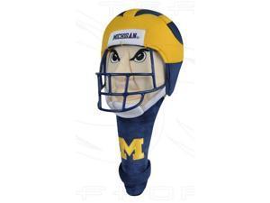 NCAA Shaft Gripper Helmet Golf Headcover - Michigan Wolverines