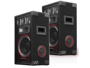 2 Technical Pro VMPR8 Passive 6 Way DJ Speakers 1400 Watts New