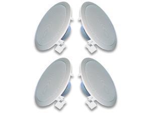 Acoustic Audio R191 In Ceiling / In Wall Speaker 2 Pair Pack 2 Way Home Theater 800 Watt New R191-2Pr