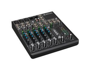 Mackie 802-VLZ4 Ultra Compact 8 Channel Mixer Onyx Mic Preamps