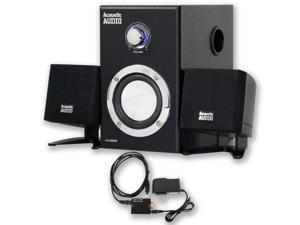 Acoustic Audio AA3009 Powered 2.1 Home Speaker System 200W with Optical Input AA3009D