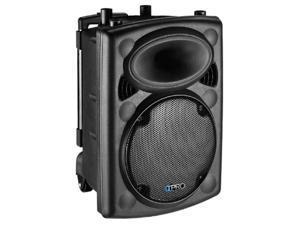 Technical Pro VORTEX12 Passive DJ 2-Way Speaker ABS Plastic with Trolley 1200 Watts