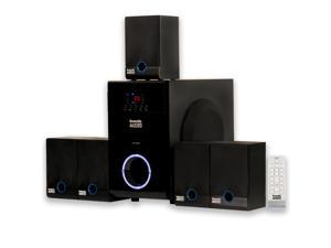 Acoustic Audio AA5817 Home Theater 5.1 Speaker System Surround Sound for Multimedia or Computer