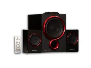 Theater Solutions TS212 Powered 2.1 Speaker System Home Multimedia Computer Gaming