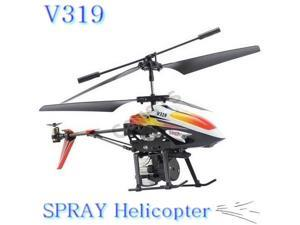 V319 3.5 Ch Infrared RC Remote Control SPRAY Water Jetter Helicopter Toy w/ Gyro