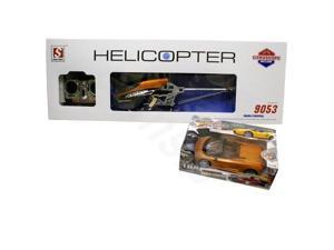 DOUBLE HORSE 9053 R/C HELICOPTER WITH FREE R/C RECHARGABLE LAMBORGHINI CAR!!